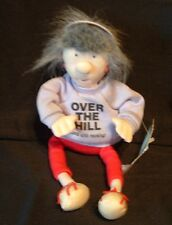 NWT HALLMARK OVER THE HILL AND STILL ROCKING JENNY B BOOGIE COOL CHICK PLUSH