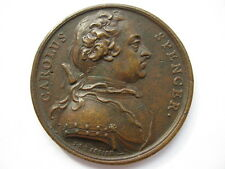 1742 Charles Spencer duque de Marlborough medalla 55mm por Dassier alza 568
