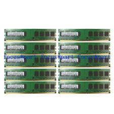 100pcs 2GB DDR2 800MHZ PC2-6400 240-pin Desktop PC Memory Ram Non-ECC Samsung