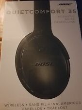 Bose QuietComfort 35 QC35 Noise Cancelling Wireless Headphones Brand New!!