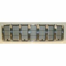 Grille Grill Chrome & Black Front End for 97-01 Jeep Cherokee