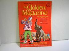 Vintage Golden Magazine for Children May 1968 Issue Original Paper Dolls Uncut