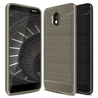 Phone Bumper for Nokia 3.1 Soft Mobile Cover Case Plain Back Rubber TPU Shell