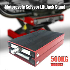 500kg Motorcycle Working Bench Lift Motorcycle Scissor Lift ATV Jack Stand