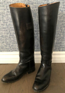 Vintage English Moss Bros Covent Garden London Equestrian Riding Boots UK Size 5