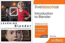 Learning Blender (Book) and Introduction to Blender LiveLessons (Video Training)