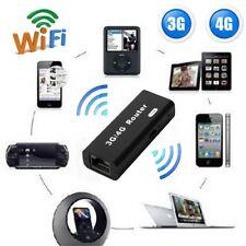 Mini Portable 3G/4G WiFi Wlan Hotspot 150Mbps RJ45 USB Wireless Drahtlose Router