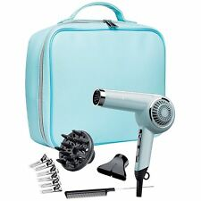 Remington 2000W Retro Women's Hair Dryer Gift Set Kit - D4110OB, Bombshell Blue