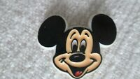 MICKEY MOUSE PIN BACK BUTTON WALT DISNEY Early Vintage Plastic Very Good Conditn