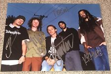 INCUBUS SIGNED AUTOGRAPH 8x10 PHOTO B BRANDON BOYD MIKE EINZIGER +3 w/PROOF