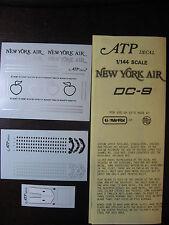 1/144 ATP DECALS DC 9 NEW YORK AIR DECALCOMANIE