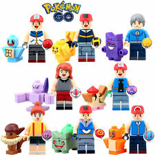 Lot mini figurines (minifig figurina figure)jeu POKEMON Pikatchu-Neufs & scéllés