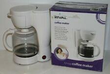 RIVAL Coffee Maker 12 Cups in White (Model RV-076)