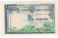 French Indochina Vietnam (1954) 1 Piastre, Pick 105 (UNC)