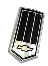 79 Camaro Z28 Rear Gas Fuel Door Tail Light Panel Emblem Black Z 28 1979