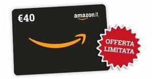 GIFT CARD GRATIS Da 40€ Buono Amazon o Zalando Regalo - LEGGI DESCRIZIONE