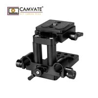 CAMVATE ARCA Swiss QR Mount Base Tripod Baseplate 15mm LWS Rod Clamp for Camera