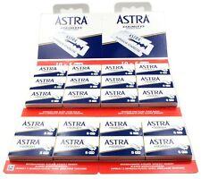 100 Astra Superior Stainless double edge razor blades