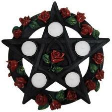 Nemesis Now Pentagram Rose Tea Light Holder