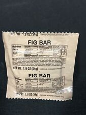 MILITARY MRE SNACKS FIG BAR SURVIVAL FOOD RATIONS PREPPER CAMPING HUNTING HIKING