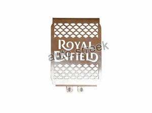 Royal Enfield Twins Gt 650 & Interceptor 650 Design D1 Ss Radiator Grill Schutz