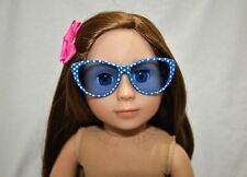 American Girl Doll Our Generation Journey Girl 18 Dolls Clothes Blue Sun Glasses