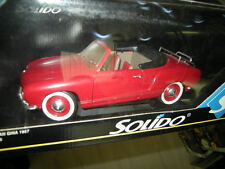 1:18 Solido VW Karmann Ghia 1957 rot/red Nr. 8058 in OVP