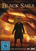 Black Sails - Die komplette Season 3 [4x DVD] *NEU* DEUTSCH Staffel 3