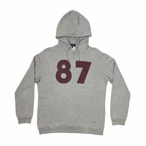 APC 25th Anniversary 87 Print Grey Hoodie Mens XL