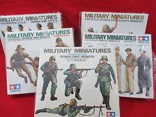 Tamiya 1:35 Military Miniatures Model Kits (Lot of 5) NIB