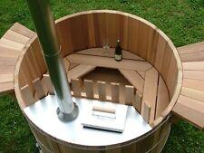 Cedar Wood Hot Tub Plans DIY Outdoor Spa Bath Relax Woodworking Build Your Own