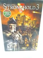Stronghold 3 PC CD ROM FREE FAST Shipping Computer Game