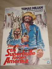 Ein Superbulle gegen Amerika - KINOPLAKAT A1 - Tomas Milian als Tony Marroni