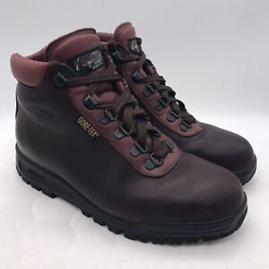 VASQUE SKYWALK SUNDOWNER Gore Tex HIKING BOOTS Brown 7936 MEN'S 7 W Wide Shoes