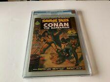 SAVAGE TALES 2 CGC 9.0 CONAN BERNIE WRIGHTSON ART MARVEL COMIC MAGAZINE 1973