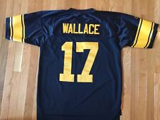 Mike Wallace Pittsburgh Steelers Throwback Premier Reebok Jersey Large STITCHED