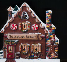 Brandywine Santa's Village: SUGARPLUM BAKERY Wooden Shelf Sitter CHRISTMAS Shop