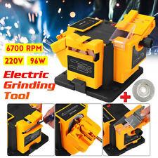 96W Multi-Function Electric Sharpener Tool Household Drill Bit Grinding Machine.