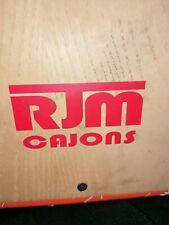Used cajon drum