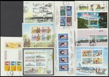 NEW ZEALAND 1969/87 (x10) DIFFERENT MINIATURE SHEETS USED (ID:83/D53676)