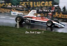 MARK DONOHUE PENSKE PC1 F1 CORSA DEI CAMPIONI Brands Hatch 1975 Fotografia
