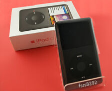 New sealed packaging Apple iPod classic 7th Gen 120GB black MP3 player warranty