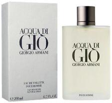 Acqua Di Gio Cologne by Giorgio Armani EDT Spray 200ml / 6.7 oz - NIB