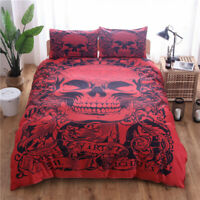 2/3Pieces Duvet Cover Set For Comforter King Queen Size Bed Set 16 Designs US
