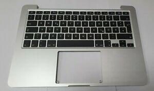 Cover Topcase Gehäuse QWERTZ Tastatur neu Apple Mac A1502 2015 EMC 2835 mf839