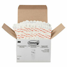 """Command™ Poster Strips  Removable  Holds Up to 1 lb  5/8"""" x 1 3/4""""  White  256"""