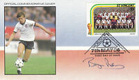 FOOTBALL WORLD CUP 1986 St VINCENT FDC SIGNED BY ENGLAND CAPTAIN BRYAN ROBSON