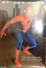 2004 Spider-Man 2 Original Single Sided 27x40 Movie Poster Spiderman  D
