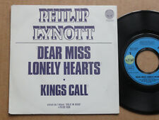 "DISQUE 45T HORS COMMERCE DE PHILIP LYNOTT  "" DEAR MISS LONELY HEARTS """