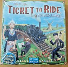 Ticket To Ride / Zug um Zug - Nederland  Map Col. 4 - noch original eingesiegelt